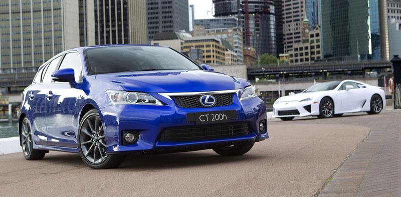 Lexus CT 200h F-Sport: oficiální fotografie: - fotka 6