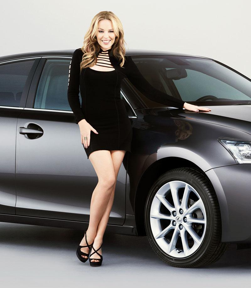 Kylie Minogue kamarádí s Lexusem: - fotka 2