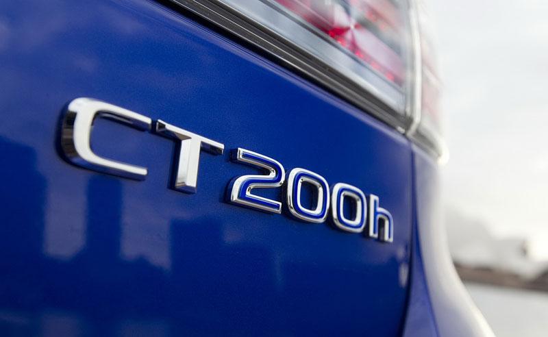 Lexus CT 200h F-Sport: oficiální fotografie: - fotka 12