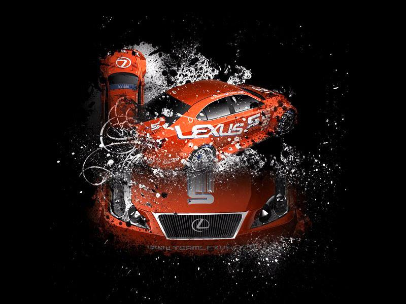 Lexus IS-F Racing Concept: - fotka 1