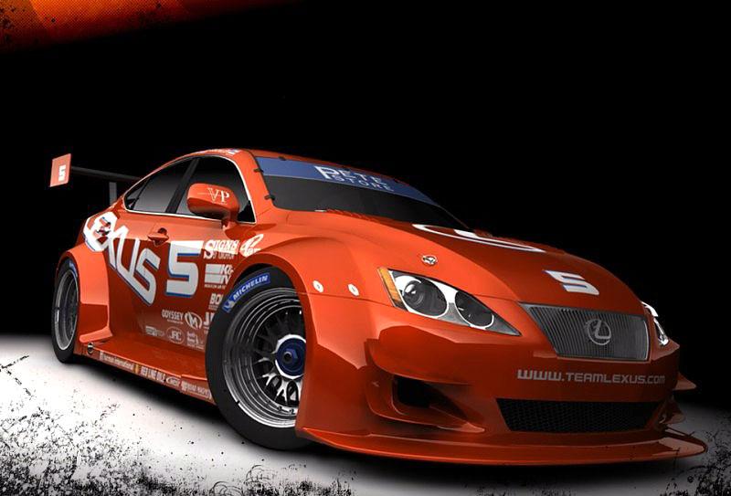 Lexus IS-F Racing Concept: nové fotografie: - fotka 3
