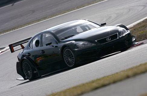 Lexus IS-F Racing Concept: nové fotografie: - fotka 4