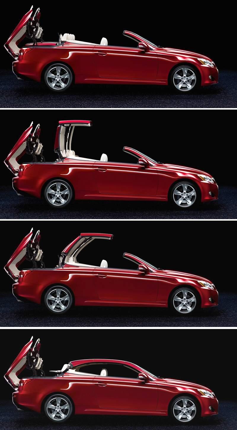 Paříž 2008: Lexus IS 250C: - fotka 17