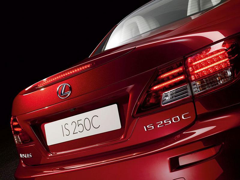 Lexus IS 250C je tu: bez střechy za 1,289 milionu: - fotka 42