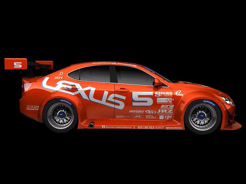 Lexus IS-F Racing Concept: nové fotografie: - fotka 5