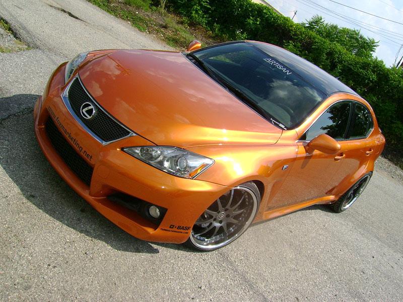 SEMA 2008 - Dvě turba pro Lexus IS F: - fotka 2