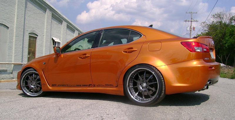 SEMA 2008 - Dvě turba pro Lexus IS F: - fotka 4
