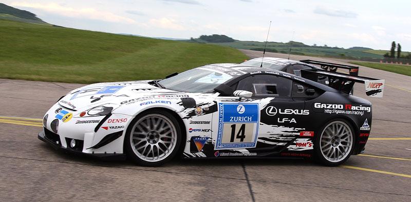 Lexus LF-A opět míří do pekla (zeleného): NOVÉ FOTO: - fotka 18