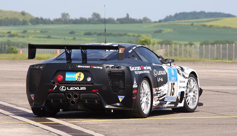 Lexus LF-A opět míří do pekla (zeleného): NOVÉ FOTO: - fotka 26