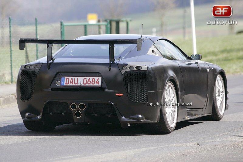 Lexus LF-A: jedeme dál!: - fotka 8