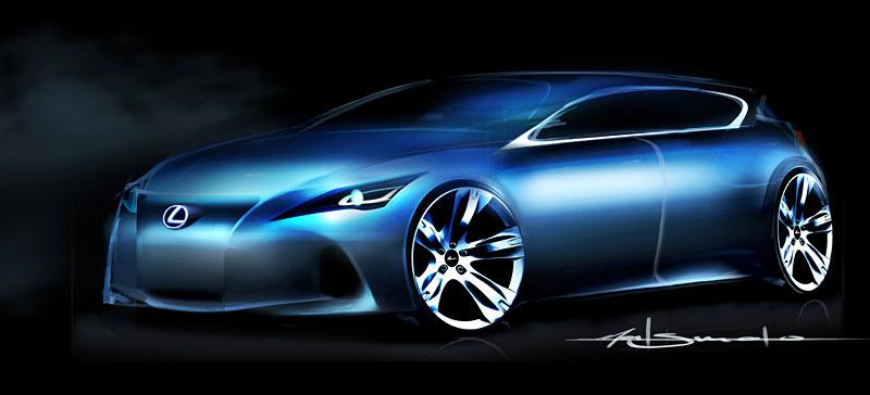 Lexus LF-Ch: první foto kompaktního hatchbacku: - fotka 6