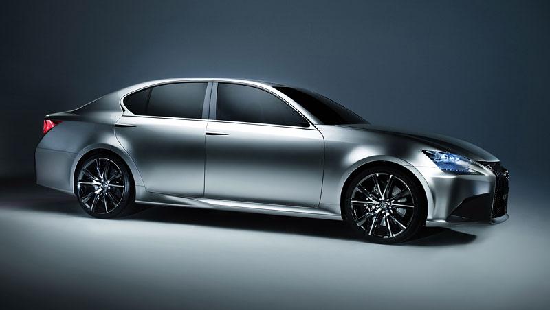 Lexus GS F: Pětilitrový osmiválec a kompresor: - fotka 18