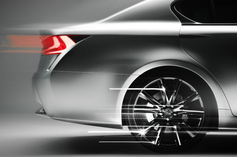 Lexus GS F: Pětilitrový osmiválec a kompresor: - fotka 44
