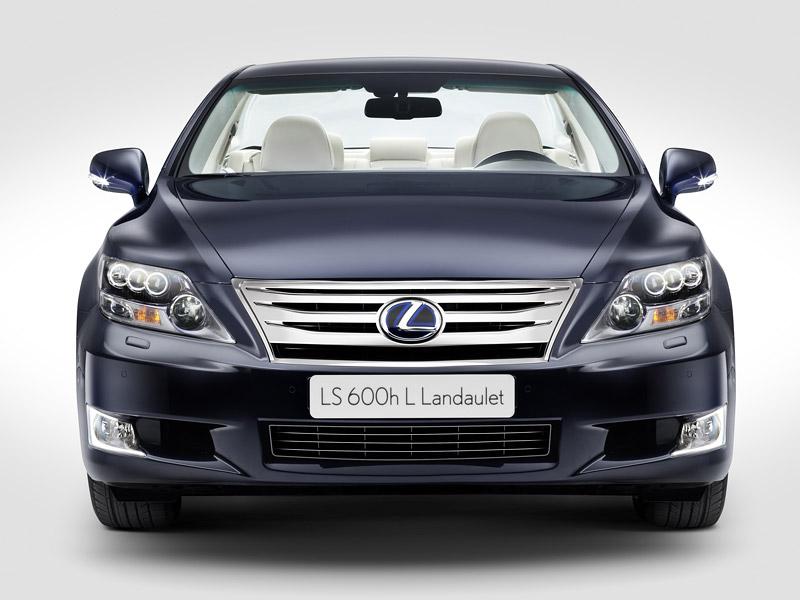 Lexus LS 600h L Landaulet: připraveno na svatbu monackého knížete: - fotka 2