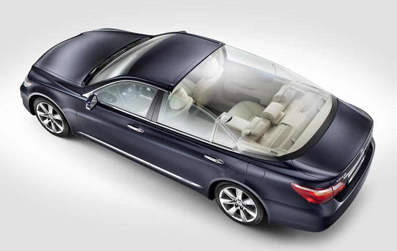 Lexus LS 600h L Landaulet: připraveno na svatbu monackého knížete: - fotka 4