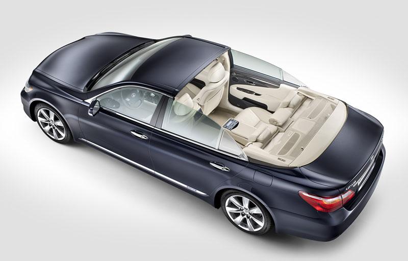 Lexus LS 600h L Landaulet: připraveno na svatbu monackého knížete: - fotka 5