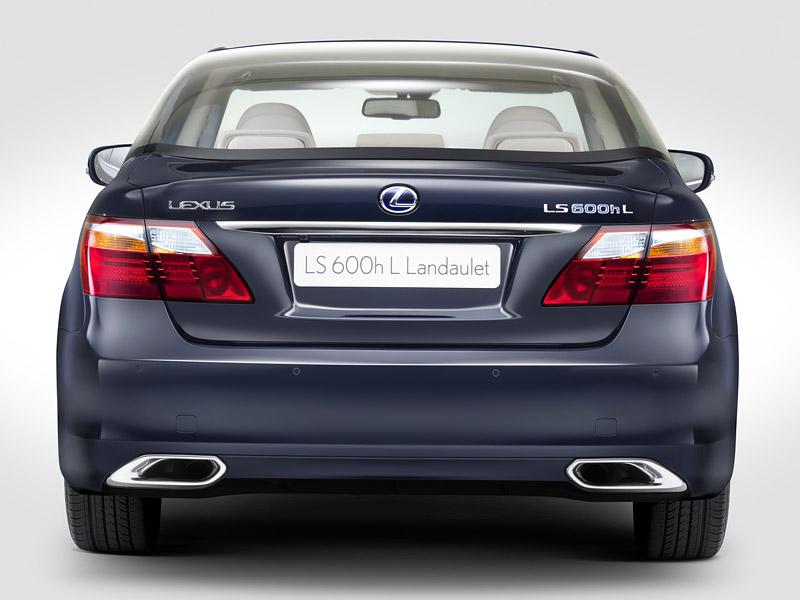 Lexus LS 600h L Landaulet: připraveno na svatbu monackého knížete: - fotka 7