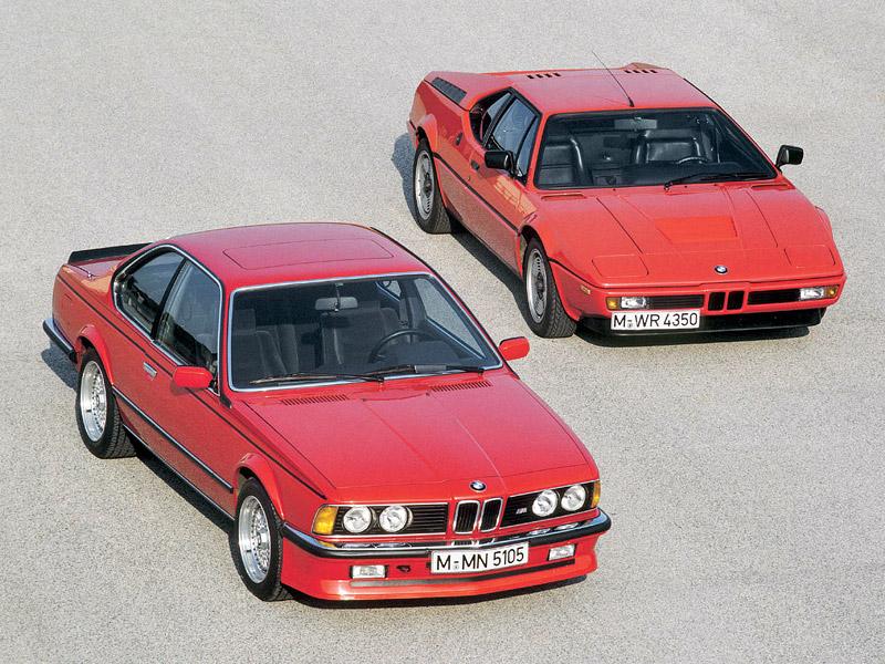 BMW M1 slaví 30 let: - fotka 23