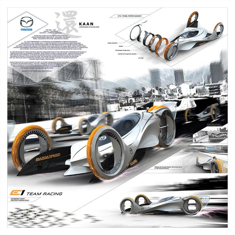 L.A. Design Challenge: Mazda Kaan: - fotka 1