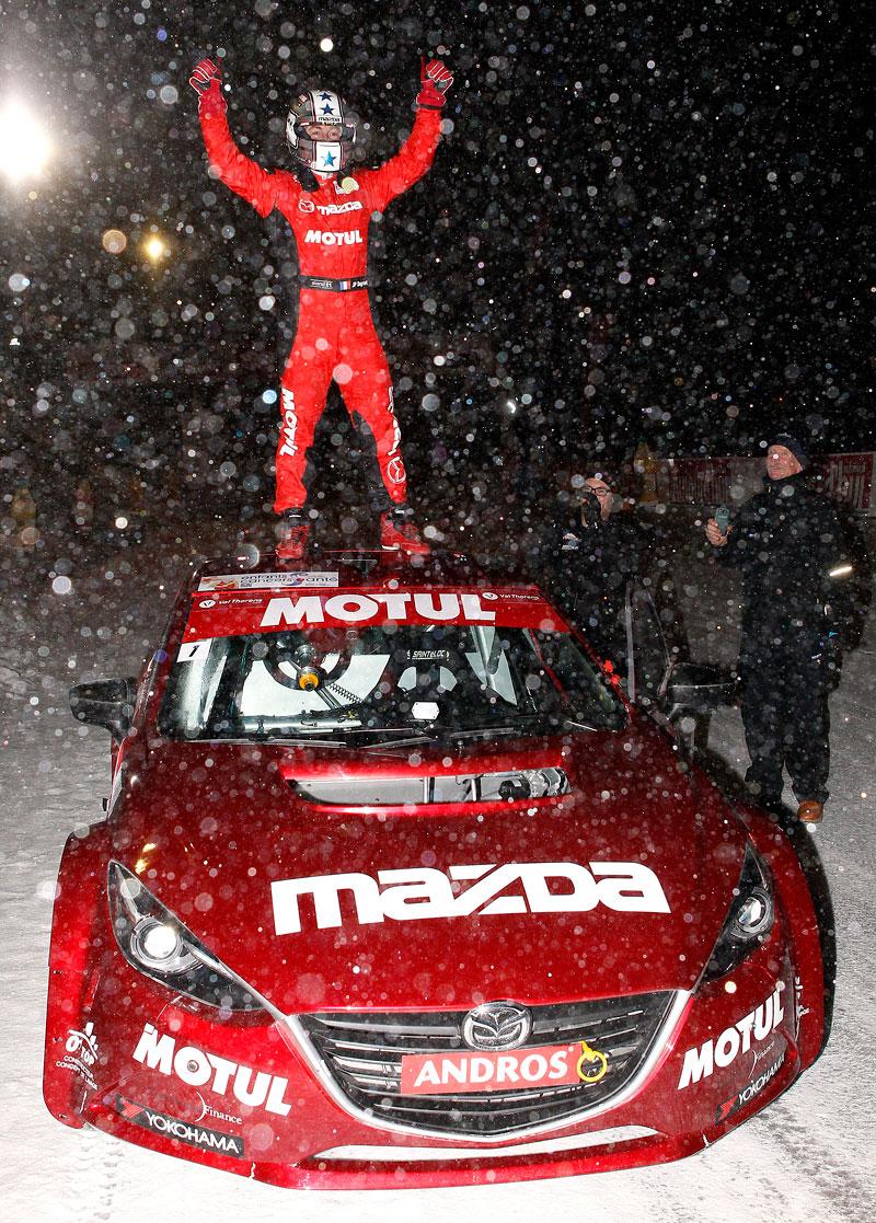 Mazda 3 vyhrála ledovou Andros Trophy: - fotka 1
