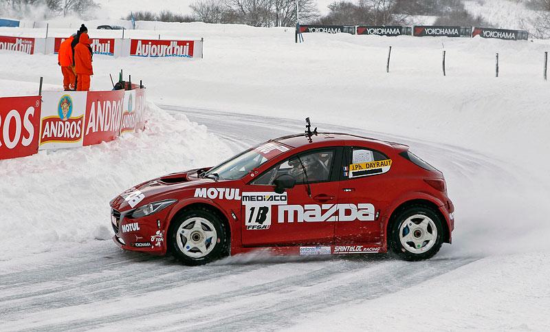Mazda 3 vyhrála ledovou Andros Trophy: - fotka 3