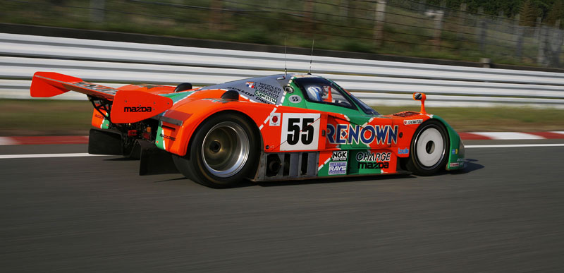Mazda 787B se vrátila do Le Mans (3x video): - fotka 11