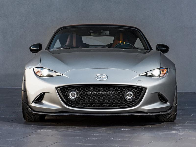 Mazda MX-5 Spyder a Speedster: Superlehké Miaty pro SEMA: - fotka 1