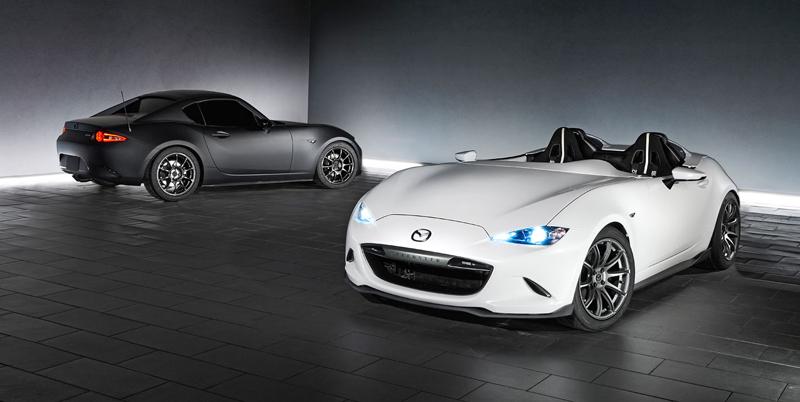 Mazda MX-5 Speedster Evolution a MX-5 RF Kuro sází na muší váhu: - fotka 2