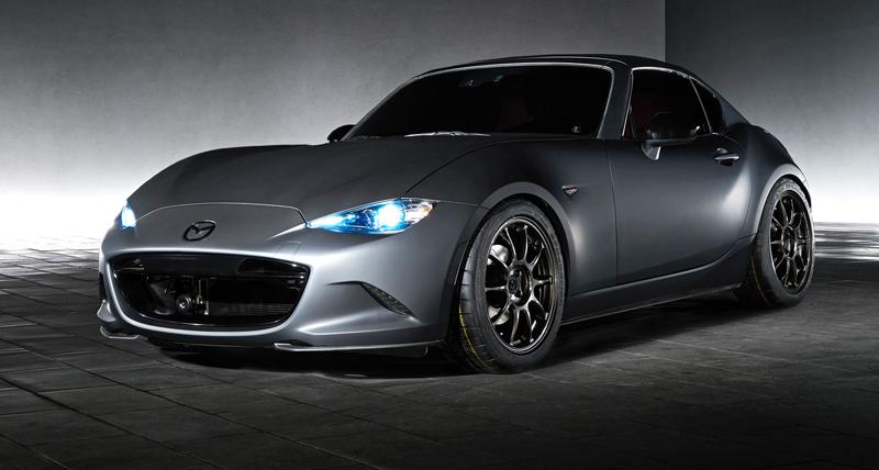 Mazda MX-5 Speedster Evolution a MX-5 RF Kuro sází na muší váhu: - fotka 3
