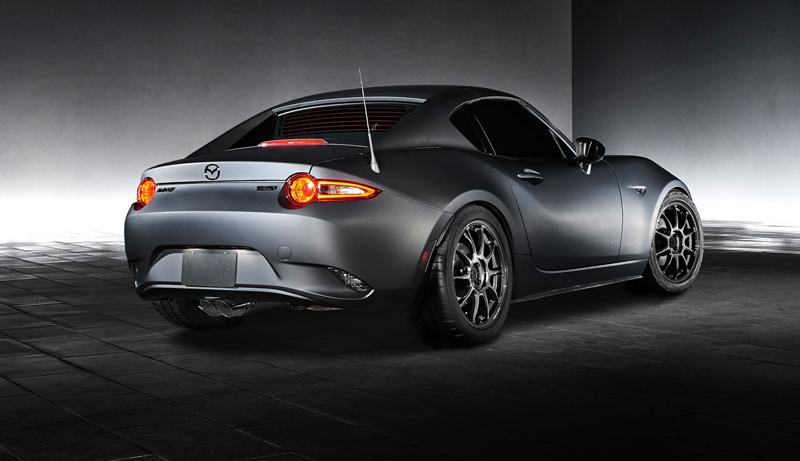 Mazda MX-5 Speedster Evolution a MX-5 RF Kuro sází na muší váhu: - fotka 5