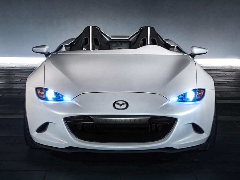 Mazda MX-5 Speedster Evolution a MX-5 RF Kuro sází na muší váhu: - fotka 7