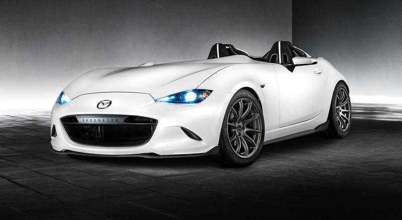 Mazda MX-5 Speedster Evolution a MX-5 RF Kuro sází na muší váhu: - fotka 8