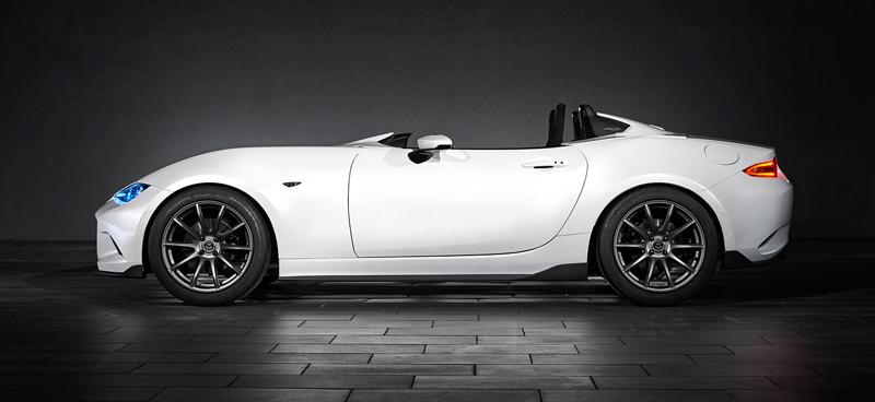 Mazda MX-5 Speedster Evolution a MX-5 RF Kuro sází na muší váhu: - fotka 9