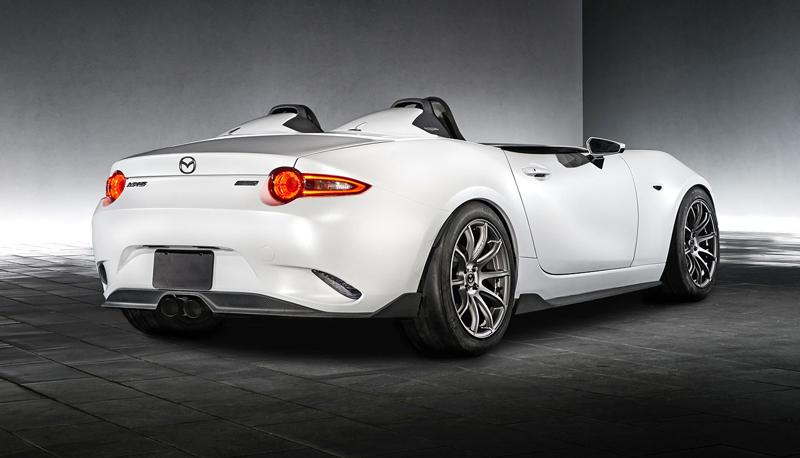 Mazda MX-5 Speedster Evolution a MX-5 RF Kuro sází na muší váhu: - fotka 10