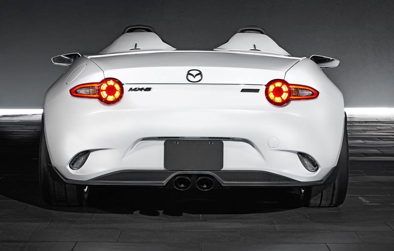 Mazda MX-5 Speedster Evolution a MX-5 RF Kuro sází na muší váhu: - fotka 11