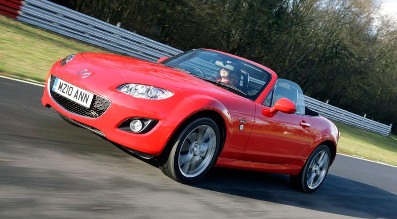 Mazda MX-5 20th Anniversary Limited Edition pro Velkou Británii: - fotka 5