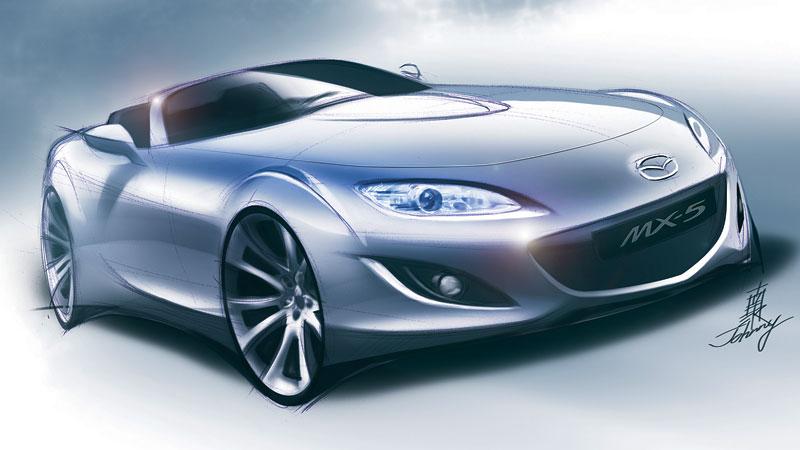 Mazda MX-5: diesel, hybrid nebo něco jiného?: - fotka 18