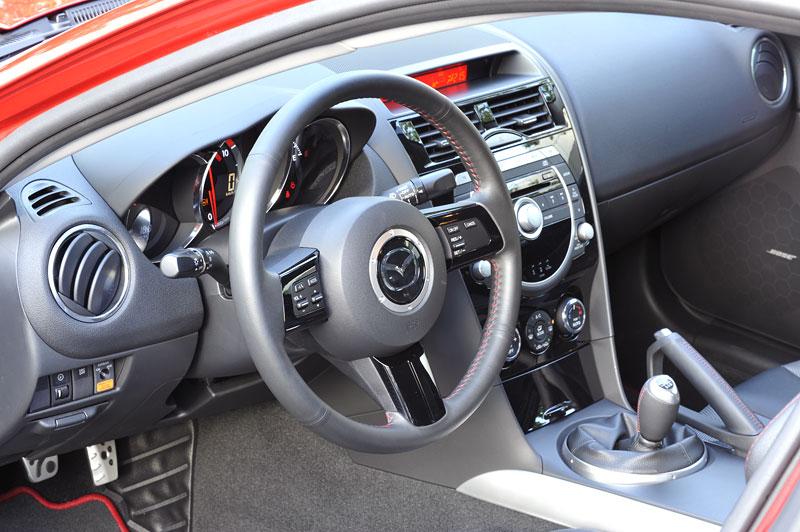 Mazda RX-8: omlazený Wankel (ale ne pro nás...): - fotka 3