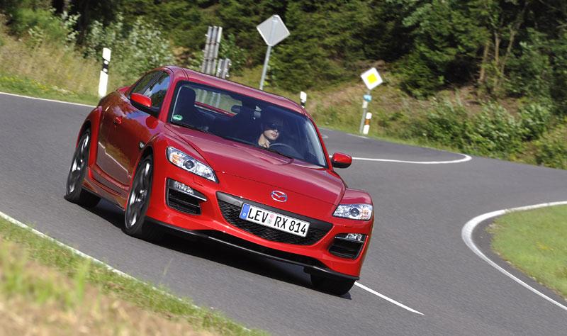 Mazda RX-8: omlazený Wankel (ale ne pro nás...): - fotka 14