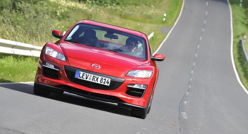 Mazda RX-8: omlazený Wankel (ale ne pro nás...): - fotka 16