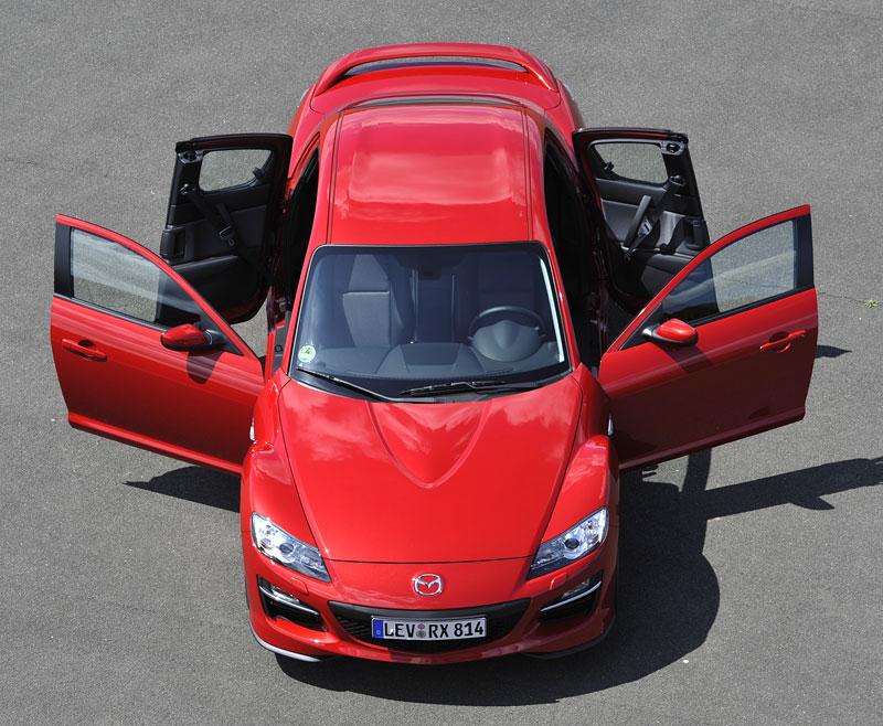 Mazda RX-8: omlazený Wankel (ale ne pro nás...): - fotka 17