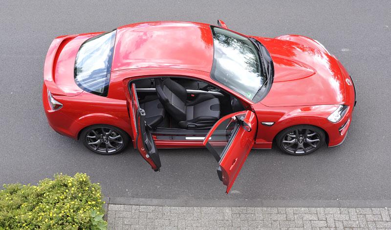 Mazda RX-8: omlazený Wankel (ale ne pro nás...): - fotka 48