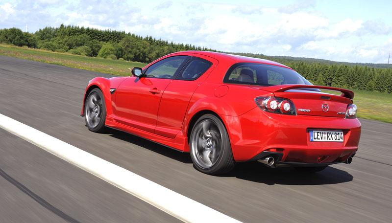 Mazda RX-8: omlazený Wankel (ale ne pro nás...): - fotka 50