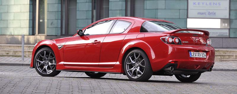 Mazda RX-8: omlazený Wankel (ale ne pro nás...): - fotka 51