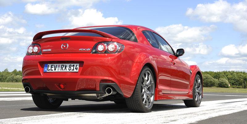 Mazda RX-8: omlazený Wankel (ale ne pro nás...): - fotka 59