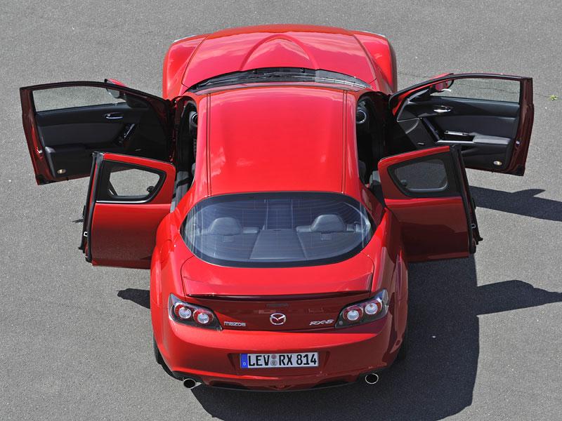 Mazda RX-8: omlazený Wankel (ale ne pro nás...): - fotka 62