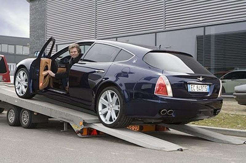 Maserati Quattroporte Bellagio: lehká ojetina na prodej: - fotka 3