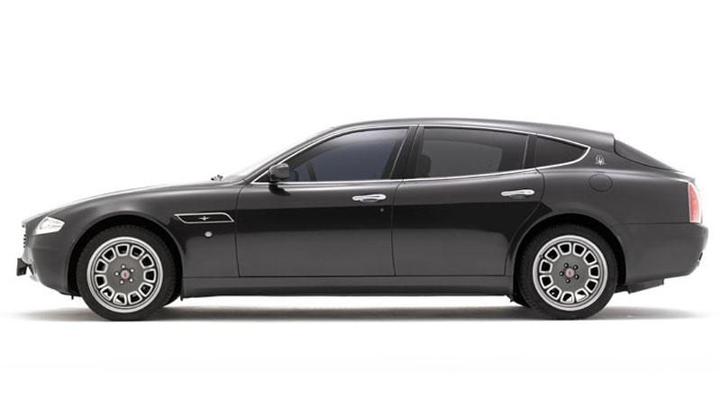 Maserati Quattroporte Bellagio: lehká ojetina na prodej: - fotka 7