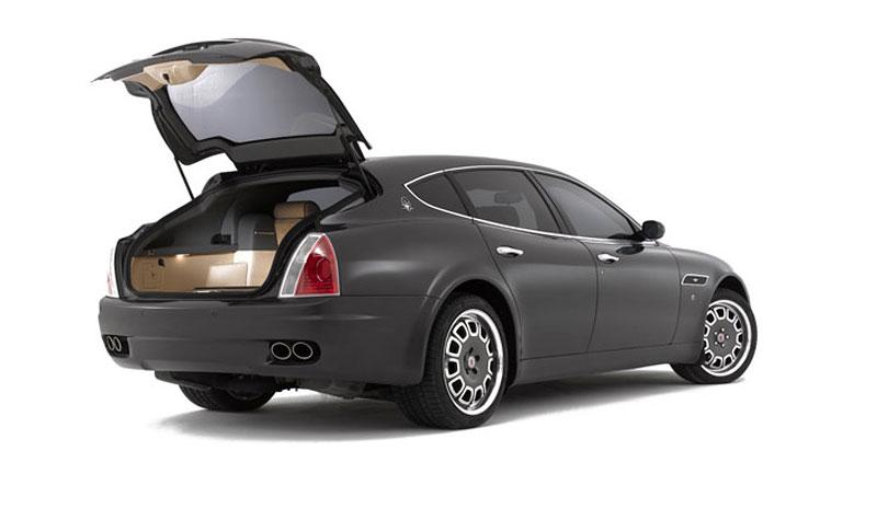 Maserati Quattroporte Bellagio: lehká ojetina na prodej: - fotka 8