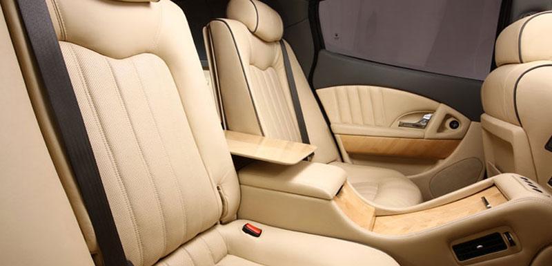 Maserati Quattroporte Bellagio: lehká ojetina na prodej: - fotka 13